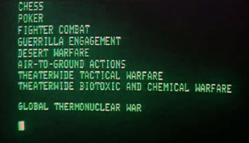 Juegos de Guerra (War Games), 1983